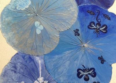blue artistic