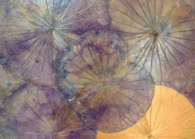 Gold and purple 100x60